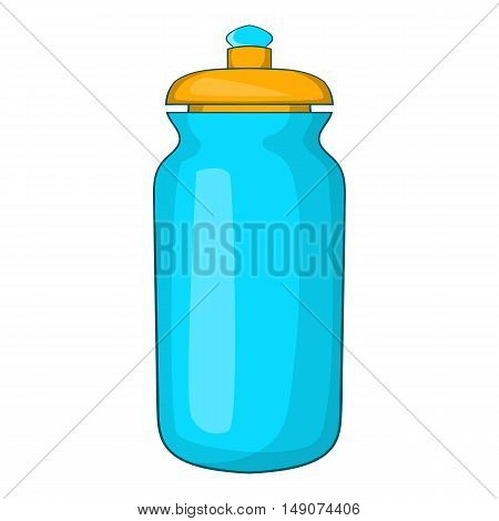 Flask for water icon in cartoon style isolated on white background. Drink symbol vector illustration