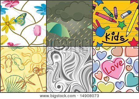 Various Seamless Patterns