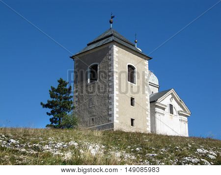 The Holy Hill with a Sacral Objects St. Sebastian Chapel of the Way of the Cross