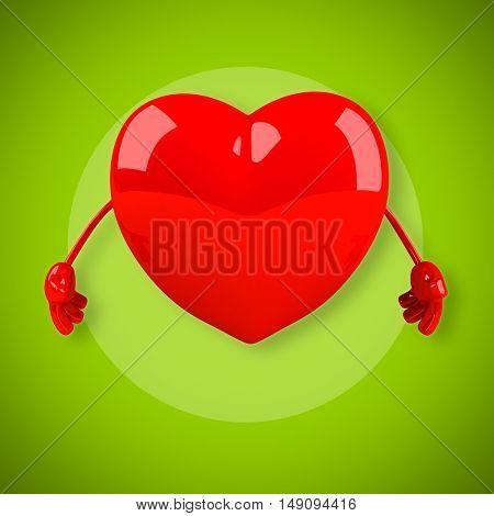 Love - 3D Illustration