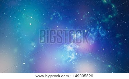 dark night sky with many stars. Milky way on the space background