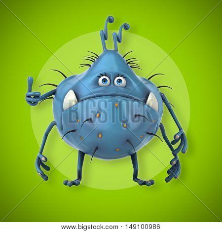 Germ - 3D Illustration