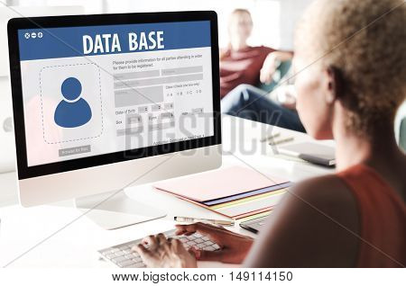 Database Information System Networking Accessibility Concept