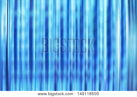 Blurred Blue Glass Block, Abstract Background
