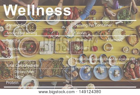 Healthcare Ingredients Wellness Nutrition Concept