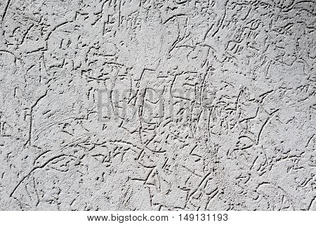 Texture Of Old Vintage Grey Plaster Wall