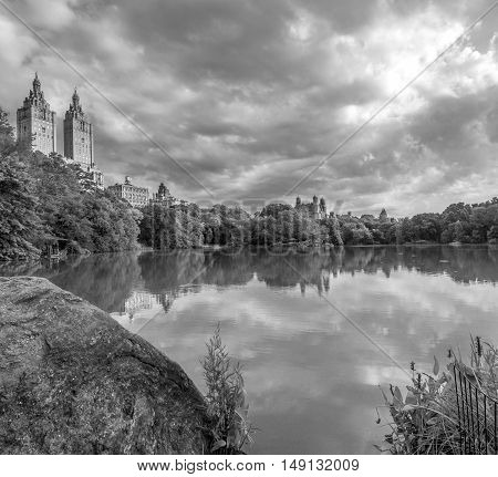 At the Lake in Central Park New York City