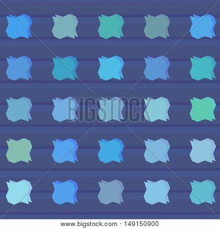 Abstract art bright color pattern vector illustration