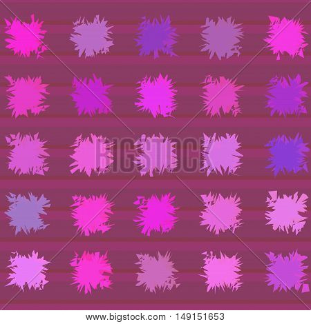 Abstract art bright color pattern vector illustration