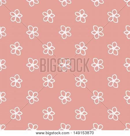 Sweet Flowers Seamless Pattern