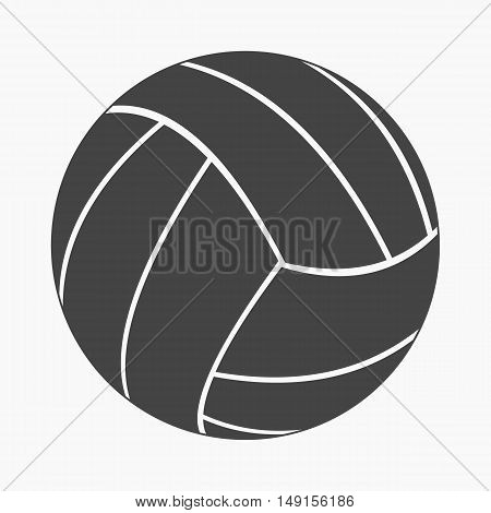 Volleyball icon cartoon. Single sport icon from the big fitness, healthy, workout collection.