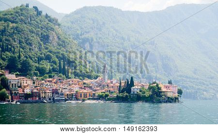 Varenna Town On Como Lake