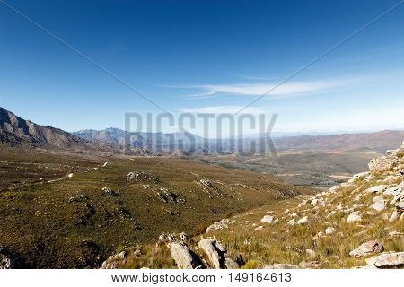 The Road Leading Up To The Swartberg Pass