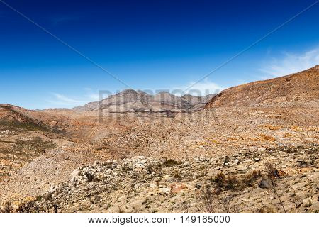 Valley Of Death In The Swartberg Pass