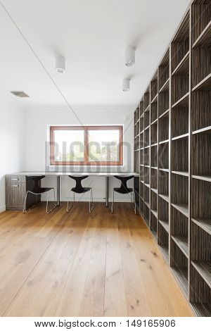 Room With Book Shelves