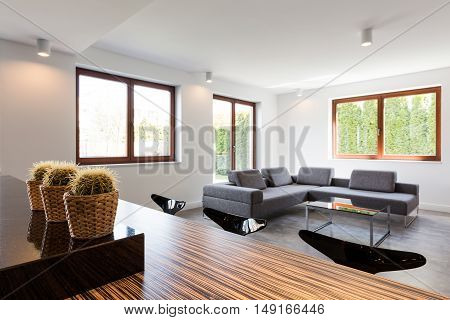 Comfortable Settee In House
