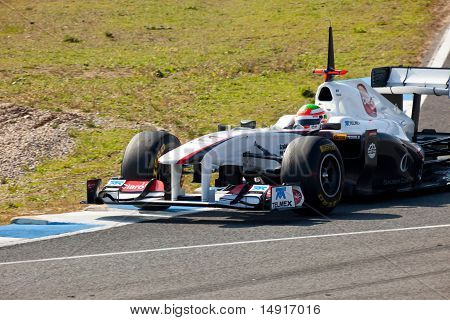 Team Sauber F1, Sergio Pérez, 2011