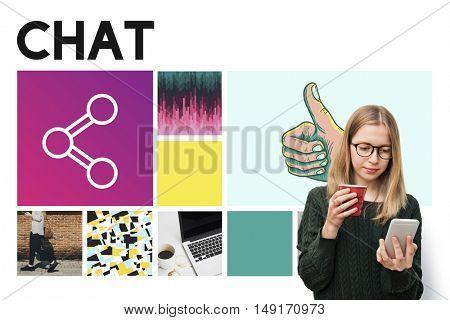 Chat Communication Connection Message Social Concept