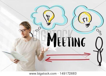 Creativity Ideas Brainstorm Communication Light Bulb Concept