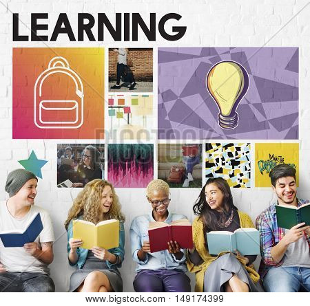 Academic Education Learning Studying Graphic Concept