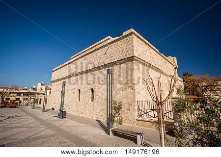 Old Castle In Limassol, Cyprus