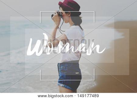 Woman Women Female Girl Madam Feminism Concept