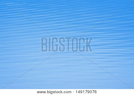 surface of ocean blue skin as background