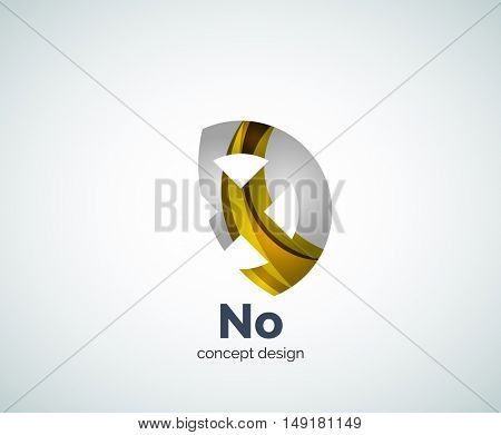 cross logo template, abstract business icon