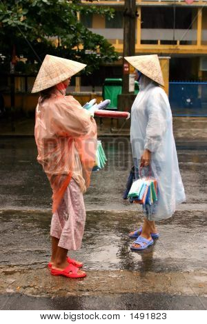 Selling Umbrellas