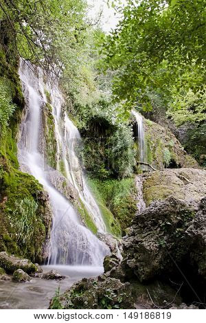 A part of Krushuna waterfalls, Balkan mountain