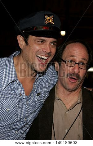 Johnny Knoxville at the Los Angeles premiere of 'Get Rich or Die Tryin' held at the Grauman's Chinese Theatre in Hollywood, USA on November 3, 2005.