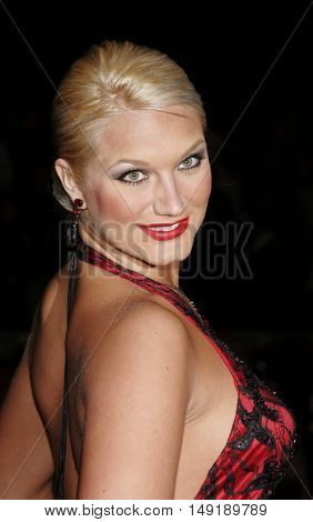 Brooke Hogan at the Los Angeles premiere of 'Get Rich or Die Tryin' held at the Grauman's Chinese Theatre in Hollywood, USA on November 3, 2005.