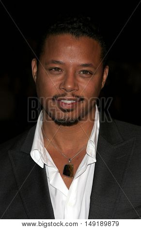 Terrence Howard at the Los Angeles premiere of 'Get Rich or Die Tryin' held at the Grauman's Chinese Theatre in Hollywood, USA on November 3, 2005.