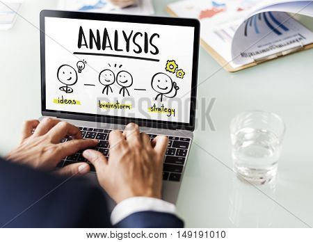 Business Ideas Process Strategy Concept