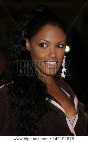 K.D. Aubert at the Los Angeles premiere of 'Get Rich or Die Tryin' held at the Grauman's Chinese Theatre in Hollywood, USA on November 3, 2005.