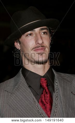 Eric Balfour at the Los Angeles premiere of 'Get Rich or Die Tryin' held at the Grauman's Chinese Theatre in Hollywood, USA on November 3, 2005.