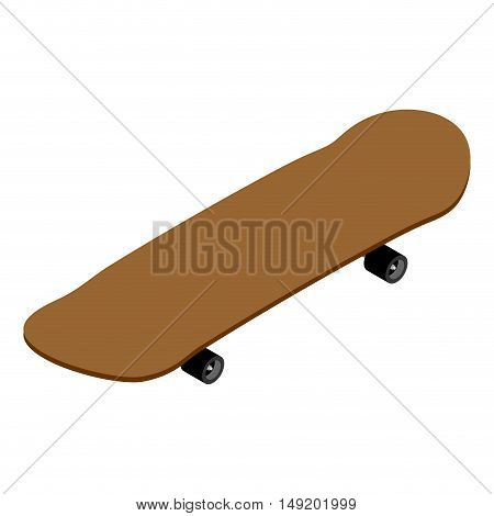 Skateboard Isometrics. Board For Skiing. Supplies For Skateboarding And Rollers. Sports Tool To Perf