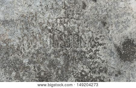 Rough Gray Concrete Floor Texture. Grunge Stain Background.