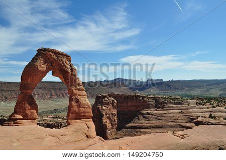 Delicate Arch, Arches National Park, Moab, Utah, U.S.A