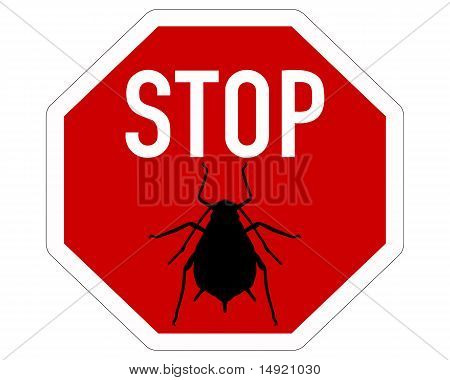 Aphid Stop Sign