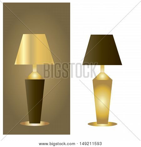white, and dark table lamps two table lamps