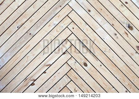 Wall texture of wood - diagonal siding panel