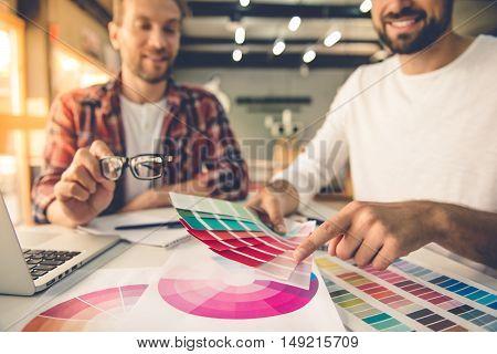 Handsome Designers Working