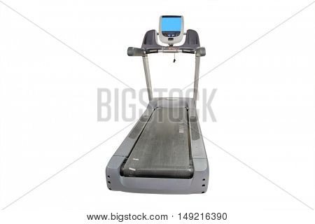 The image of trademills in a fitness hall