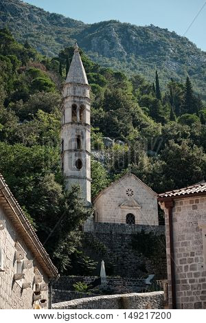 Perast Church Our Lady of the Rosary, Montenegro