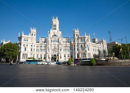 Madrid Cibeles Square