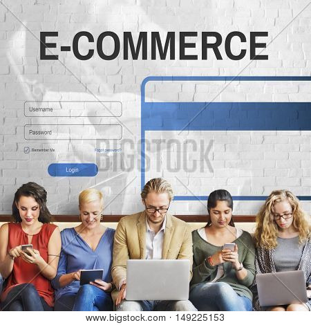E-commerce Digital Internet Technology Web Concept