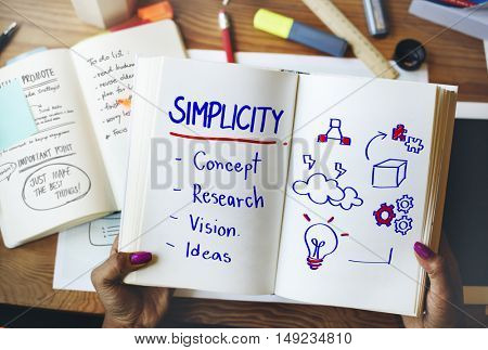 Simplicity Creativity Style Design Concept