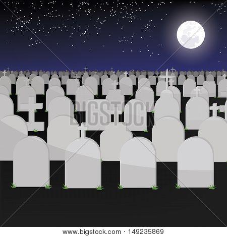 Big Tomb Have Graves Of Vector Esp 10