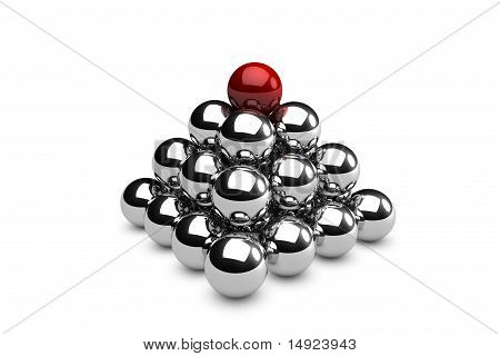Pyramid Of Spheres